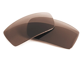 FUSE Lenses for Oakley Square Wire II New (2014) Brown Tinted Lenses
