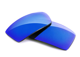 FUSE Lenses for Oakley Gascan (Asian Fit) Glacier Mirror Tinted Lenses