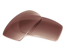 FUSE Brown Gradient Polarized Replacement Lenses for Oakley Twitch