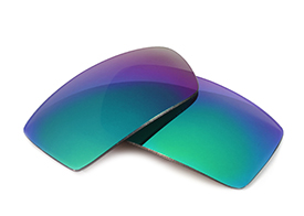 FUSE Lenses for Oakley Monster Doggle Sapphire Mirror Polarized Lenses