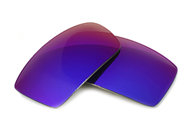 Fuse Lenses for Fox Racing The Matter - Cosmic Mirror Polarized