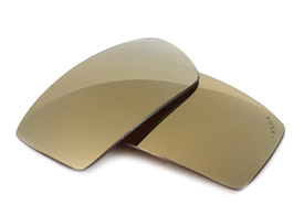 FUSE+ Metallic Bronze Mirror Polarized Lenses for Oakley Twitch