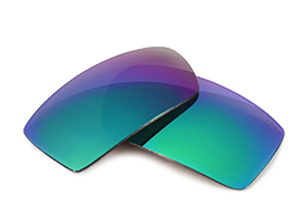 FUSE+ Sapphire Mirror Polarized Lenses for Oakley Twitch