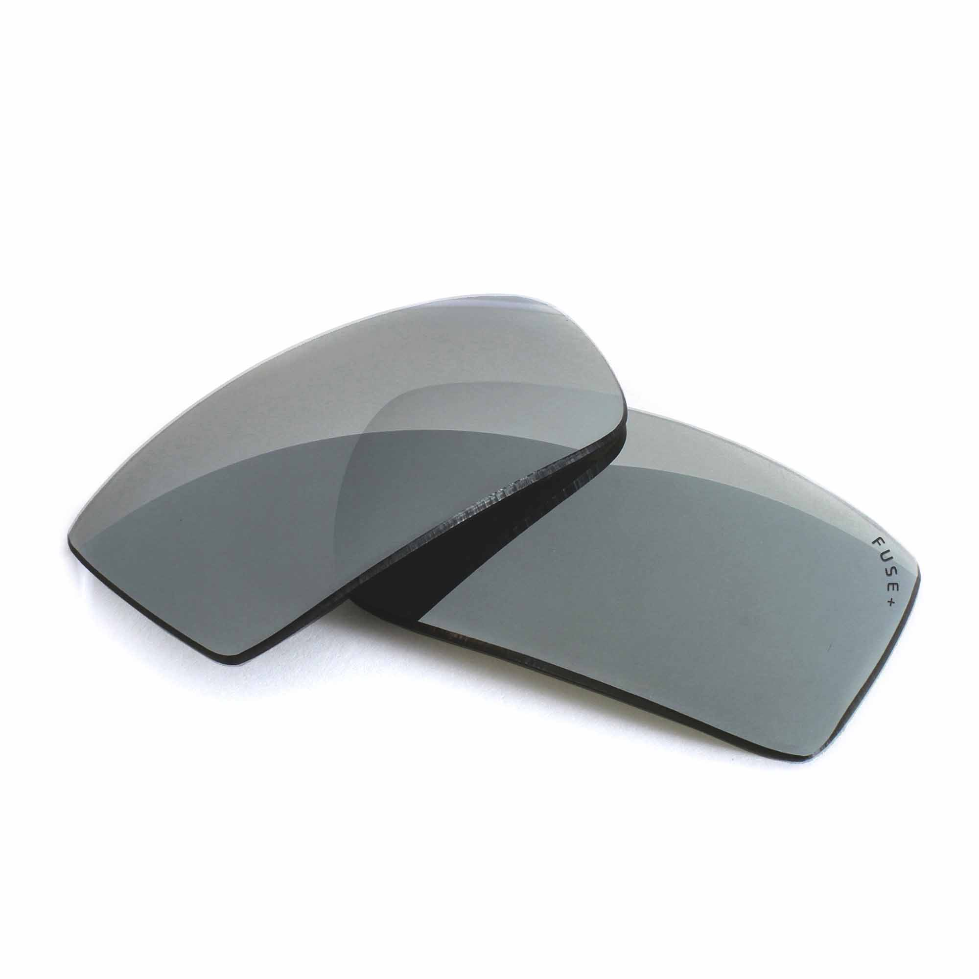 Oakley Twitch Grey Lens W/ Chrome Mirror Replacement Lenses