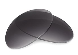 FUSE Lenses for Oakley T Wire Collectors Grey Gradient Tint Lenses
