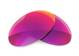 Fuse Lenses for Revo 1005 Vintage - Multi-Colored Red Metal Mirror Polarized