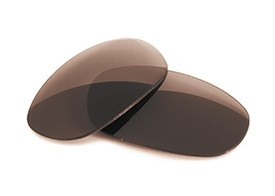 FUSE Lenses for Ray-Ban RB3198 (55mm) Brown Tint Replacement Lenses