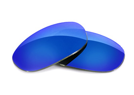 FUSE Glacier Mirror Polarized Lenses for Oakley Eye Jacket 1.0