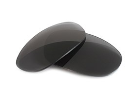 Fuse Lenses for Oakley Betray A (Asian Fit) - Carbon Mirror Tint
