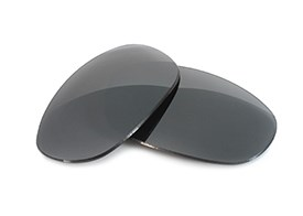 FUSE Lenses for Maui Jim Titanium MJ-551-23 Carbon Mirror Polarized