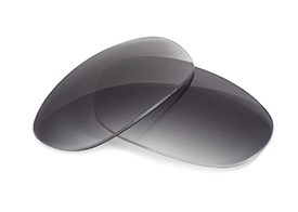 Fuse Lenses for Oakley E Wire (Gen 1) - Gradient Grey Tint