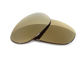 FUSE Bronze Mirror Tint Replacement Lenses for Arnette Two-Bit AN4197