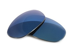 FUSE Lenses for Oakley Mag Four S Midnight Blue Mirror Polarized