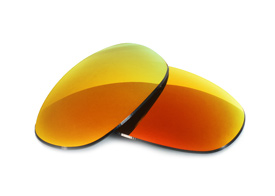 FUSE Cascade Mirror Polarized Lenses for Costa Del Mar Havana