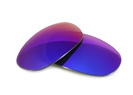 Fuse Lenses for Maui Jim Titanium MJ-551-23 - Cosmic Mirror Polarized