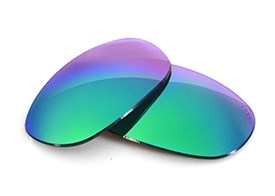 Fuse+ Lenses for Wiley X Quake - Sapphire Mirror Polarized