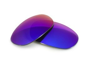 Fuse+ Lenses for Wiley X Quake - Cosmic Mirror Polarized