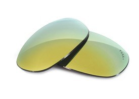 Fuse+ Lenses for Wiley X Quake - Fusion Mirror Polarized