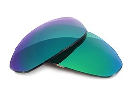 FUSE Lenses for Prada SPS 02G (61mm) Sapphire Mirror Polarized Lenses