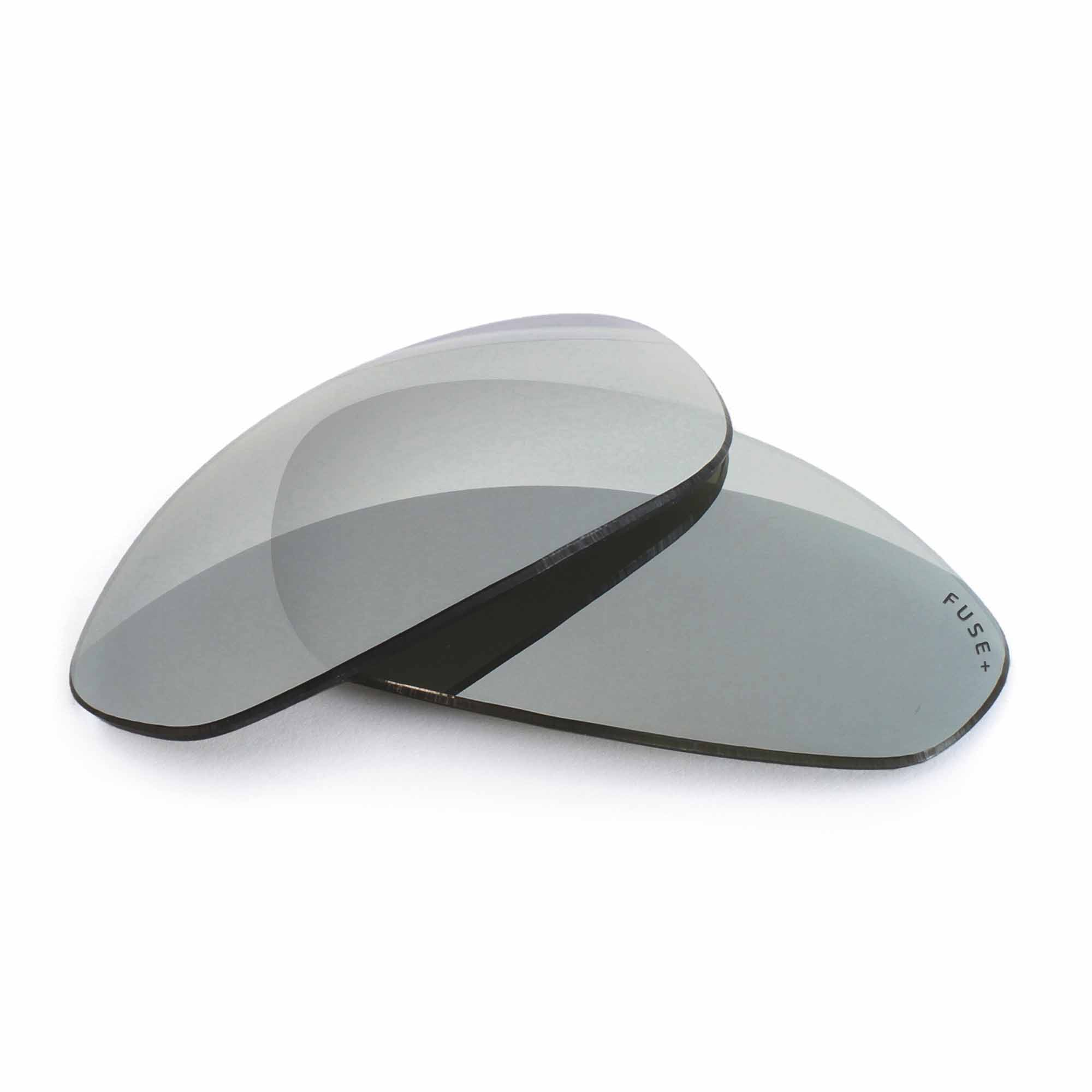 Oakley Fives 1.0 Grey Lens W/ Chrome Mirror Replacement Lenses