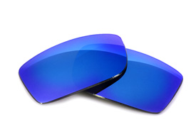 FUSE Lenses for Versace 4068-B Glacier Mirror Polarized Lenses