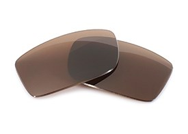 FUSE Lenses for Versace 4068-B Brown Polarized Lenses