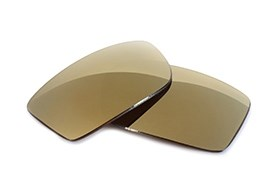 FUSE Lenses for Chrome Hearts Boned Metallic Bronze Alloy Polarized