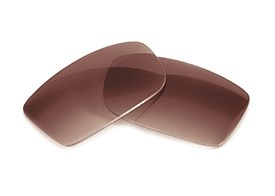 FUSE Lenses for Chrome Hearts Boned Brown Gradient Polarized Lenses