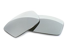 FUSE Lenses for Guess GU6700 (53mm) Chrome Mirror Polarized