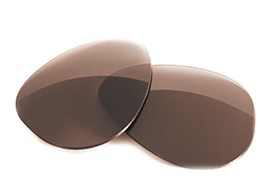 Fuse Lenses for Ray-Ban RB3029 Outdoorsman II (62mm) - Brown Tint