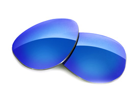 FUSE Glacier Mirror Polarized Lenses for Oakley Crosshair (2012)