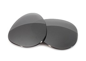 FUSE Lenses for Maui Jim Baby Beach MJ-245 (56mm) Carbon Mirror Polarized