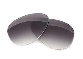FUSE Lenses for Persol 2256 (59mm) Grey Gradient Tint Lenses