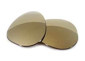 FUSE Lenses for Persol 2866 Bronze Mirror Tint Replacement Lenses