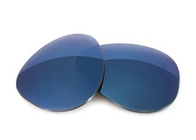 Fuse Lenses for Diesel DL0088 (63mm) - Midnight Blue Mirror Tint