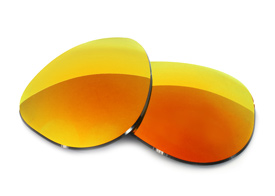 FUSE Lenses for Coach Allegra S567 Cascade Mirror Polarized Lenses