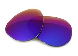 FUSE Lenses for Maui Jim Baby Beach MJ-245 (56mm) Cosmic Mirror Polar
