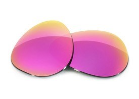 Fuse Lenses for Ray-Ban RB3026 Aviator (62mm) - Bella Mirror Tint