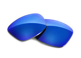 Fuse Lenses for Oakley Triggerman (Asian Fit) - Glacier Mirror Tint