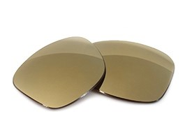 FUSE Lenses Metallic Bronze Alloy Polarized for Ray-Ban RB2140 Wayfarer 54mm