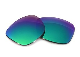 FUSE Lenses for Oakley Triggerman (Asian Fit) Sapphire Mirror Tint Lenses
