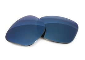 FUSE Lenses for Oakley News Flash Midnight Blue Mirror Tinted Lenses