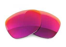 Fuse Lenses for Maui Jim Kawika 257 - Multi-Colored Red Metal Mirror Polarized