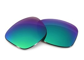 Fuse+ Lenses for Oakley Triggerman (Asian Fit) - Sapphire Mirror Polarized