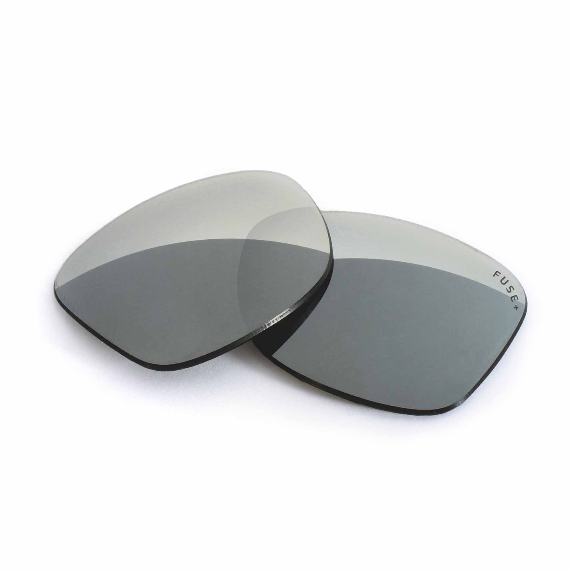 Oakley Jupiter Squared Grey Lens w/ Chrome Mirror Replacement Lenses
