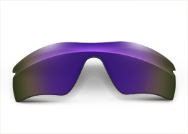 FUSE Cosmic Mirror Polarized Replacement Lenses for Oakley Radar Path